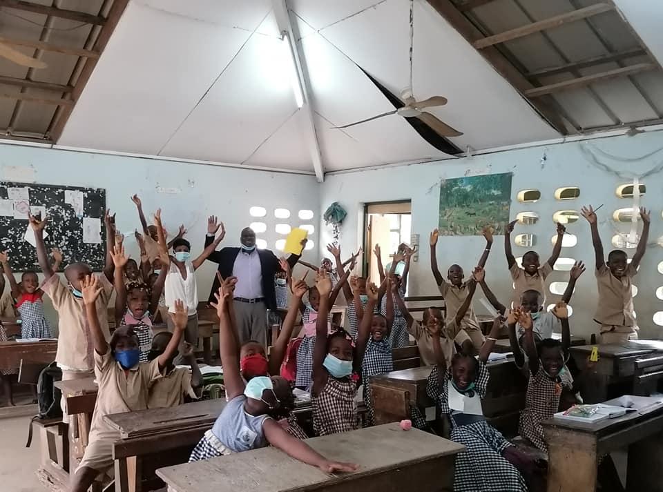 Écoliers de EPP Municipalité Cocody